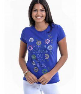 лилава дамска блуза