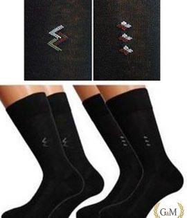 G&M Мъжки ежедневни чорапи с орнамент