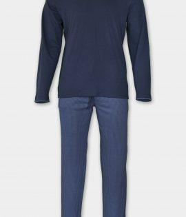 AFFECT Мъжка пижама Classic in Blue