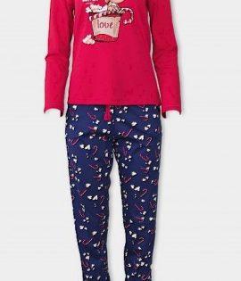 AFFECT Дамска пижама Love Winter