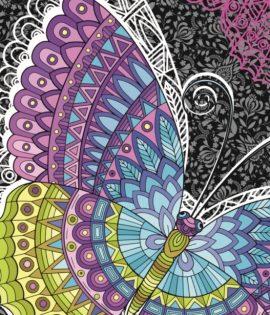 Delfina Плажна кърпа Butterfly 70x140 см