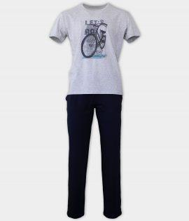 AFFECT Мъжка пижама Bicycle