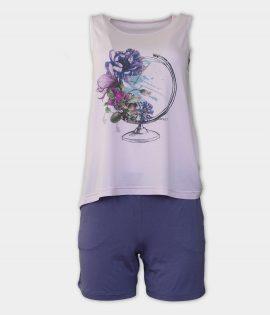 AFFECT Дамска пижама Globe